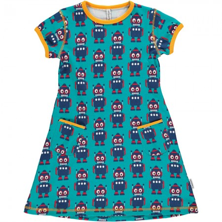 Maxomorra Robot SS Dress