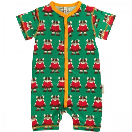 Maxomorra Viking Shortie Romper