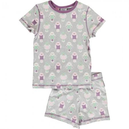Maxomorra Budgie SS Pyjama Set