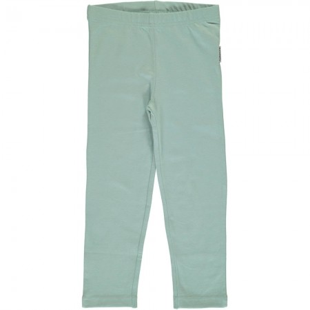 Maxomorra Pale Blue Cropped Leggings