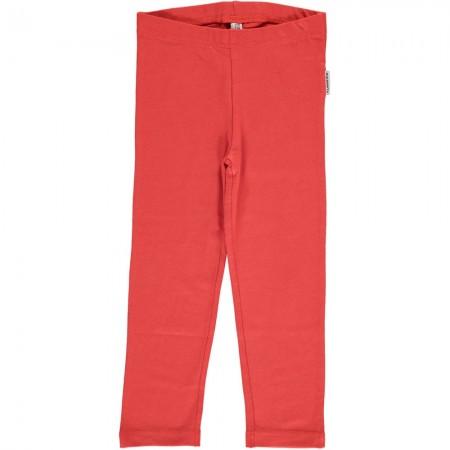 Maxomorra Rusty Red Cropped Leggings