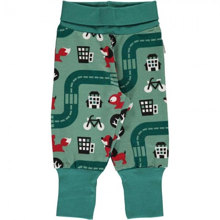 Maxomorra Big City Rib Pants