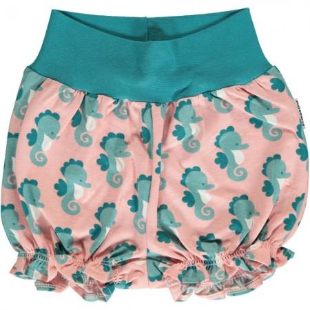Maxomorra Seahorse Rib Shorts