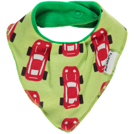 Maxomorra Sports Car Dribble Bib
