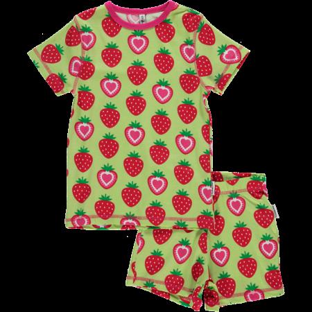Maxomorra Strawberry SS Pyjamas