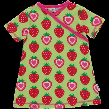 Maxomorra Strawberry Wrap SS Dress