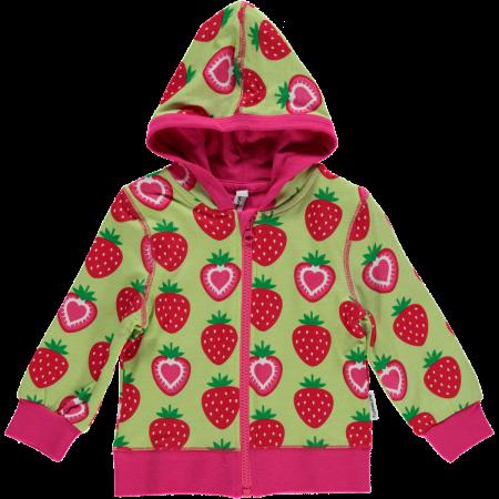 Maxomorra Strawberry Zip Hoody