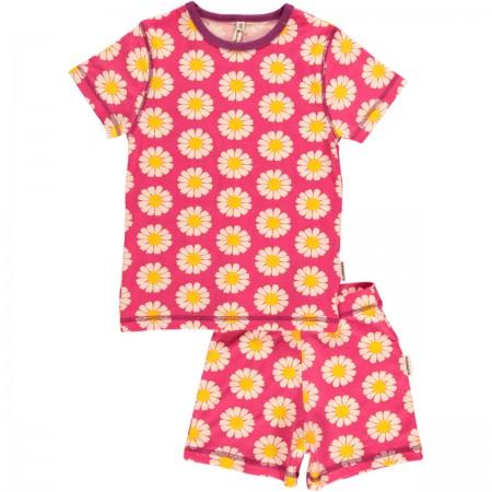 Maxomorra Shortie Daisy Pyjamas