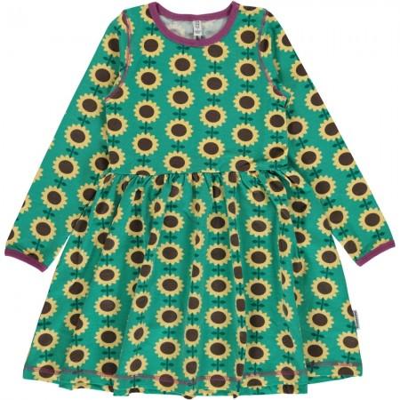 Maxomorra Long Sleeve Sunflower Spin Dress