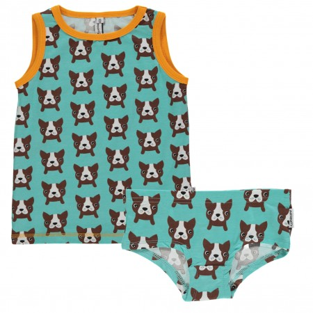 Maxomorra Dog Vest and Knickers Set