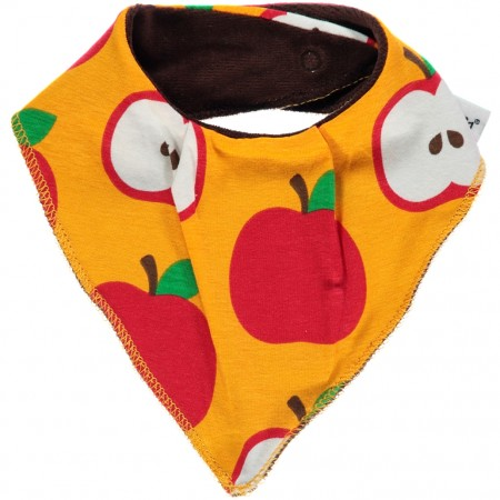 Maxomorra Apple Dribble Bib