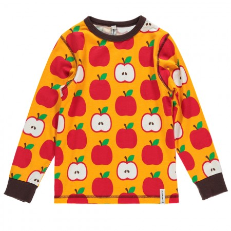 Maxomorra Apple LS Top