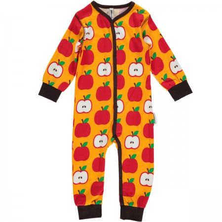 Maxomorra Apple Romper