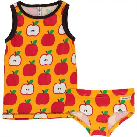 Maxomorra Apple Knickers & Vest