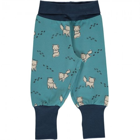 Maxomorra Arctic Fox Rib Pants