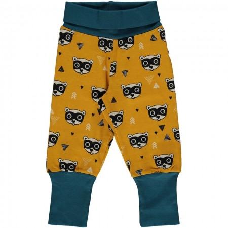 Maxomorra Bandit Raccoon Rib Pants