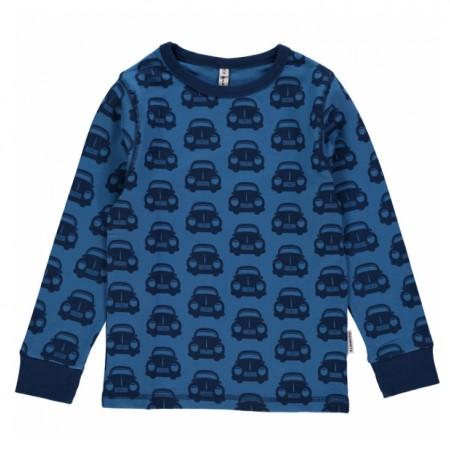 Maxomorra Blue Cars LS Top