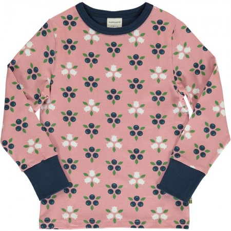 Maxomorra Blueberry Blossom LS Top