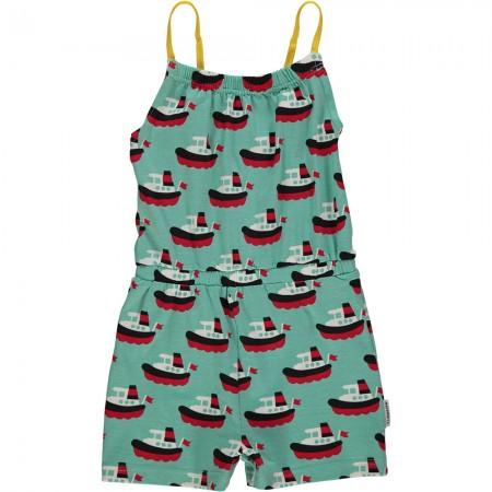Maxomorra Boat Short Jumpsuit