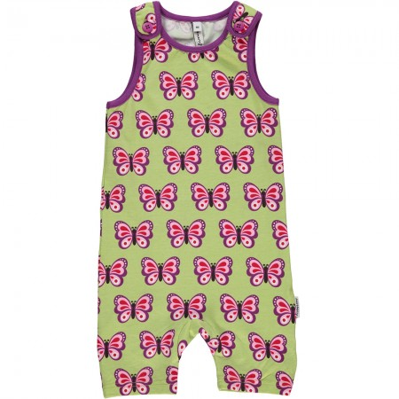 Maxomorra Butterfly Short Dungarees