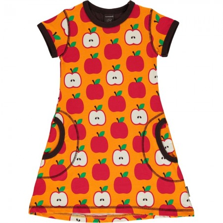 Maxomorra Classic Apple SS Dress