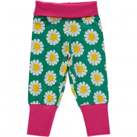 Maxomorra Daisy Rib Pants