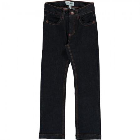 Maxomorra Dark Blue Denim Pants