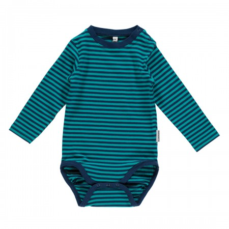 Maxomorra Blue & Turquoise LS Body