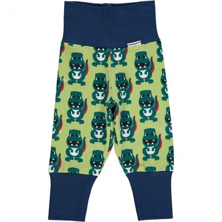 Maxomorra Dino Rib Pants