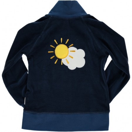 Maxomorra Sky Embroidered Jacket
