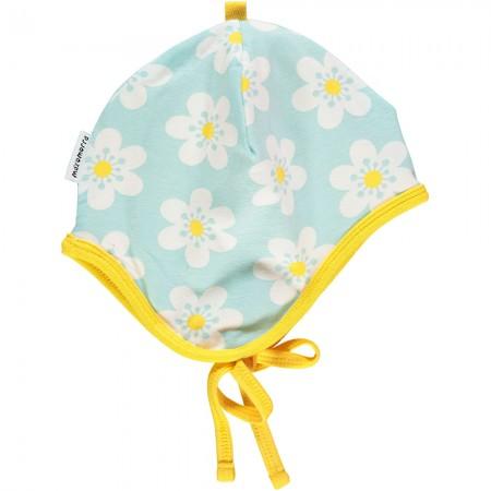 Maxomorra Flower Baby Bonnet Hat