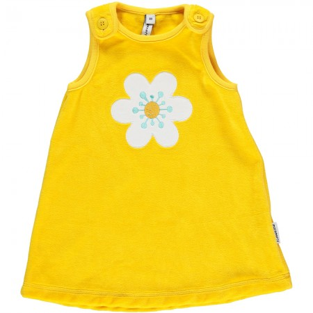 Maxomorra Flower Embroidered Dress