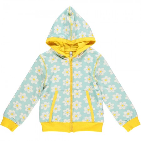 Maxomorra Flower Zip Hoody