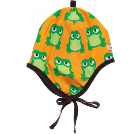 Maxomorra Frog Baby Bonnet Hat
