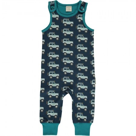 Maxomorra Jeep Adventure Dungarees