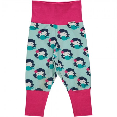 Maxomorra Mermaid Rib Pants