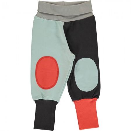 Maxomorra Multi Fun Block Rib Pants