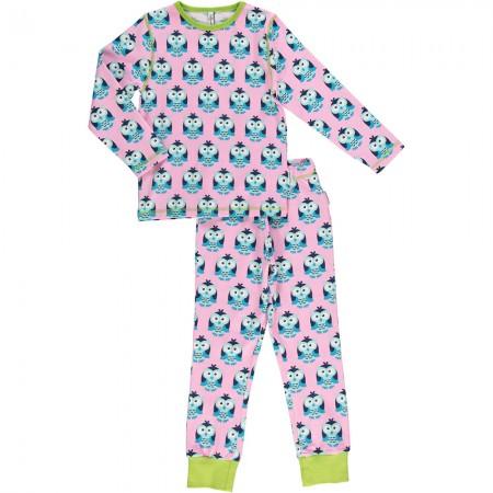 Maxomorra Owl LS Pyjamas