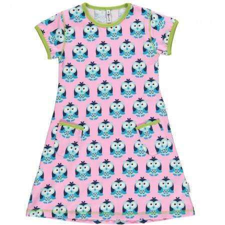 Maxomorra Owl SS Dress