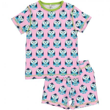 Maxomorra Owl SS Pyjamas