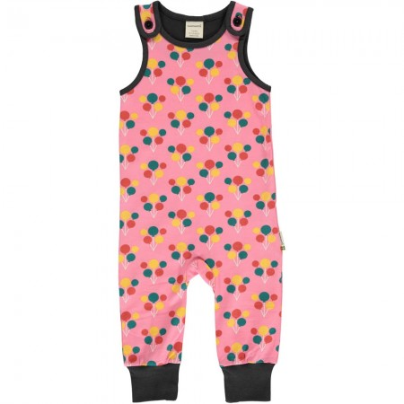 Maxomorra Party Balloons Dungarees