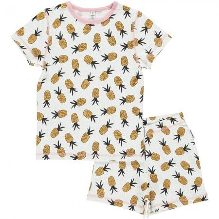 Maxomorra Pineapple Spots Short Pyjamas