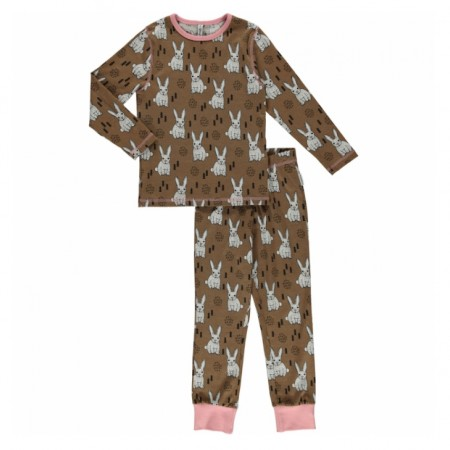 Maxomorra Rabbit LS Pyjamas