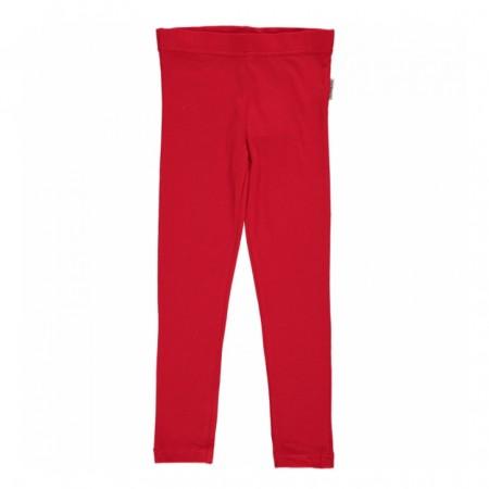 Maxomorra Red Leggings