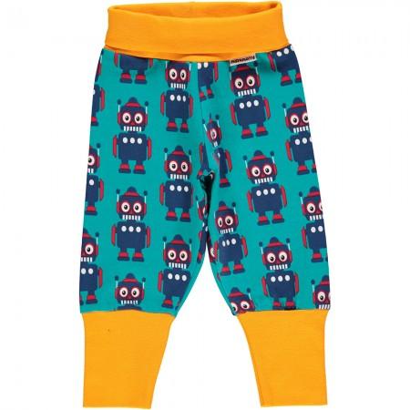 Maxomorra Robot Rib Pants