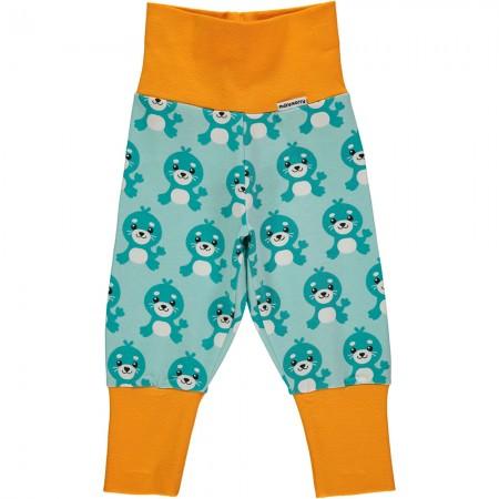 Maxomorra Seal Rib Pants