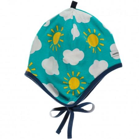 Maxomorra Sky Baby Bonnet Hat