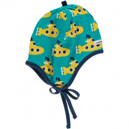 Maxomorra Submarine Baby Bonnet Hat