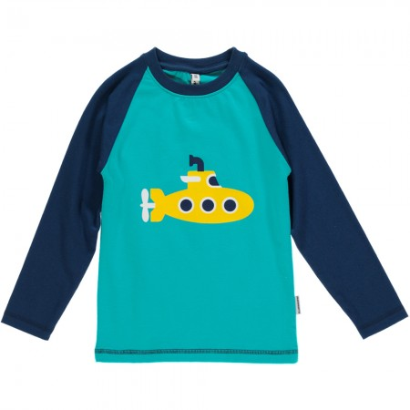 Maxomorra Submarine Single Print LS Top