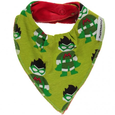 Maxomorra Superhero Dribble Bib